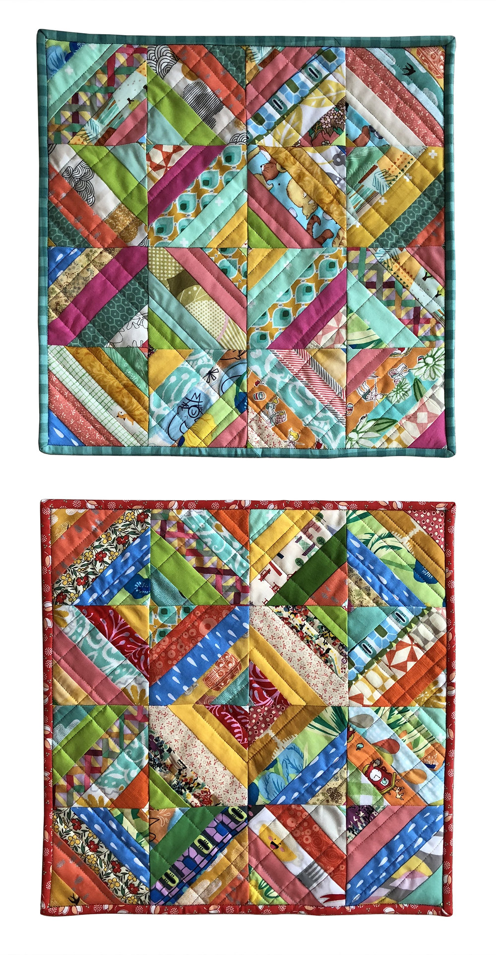 Mini Strip Quilts 2017
