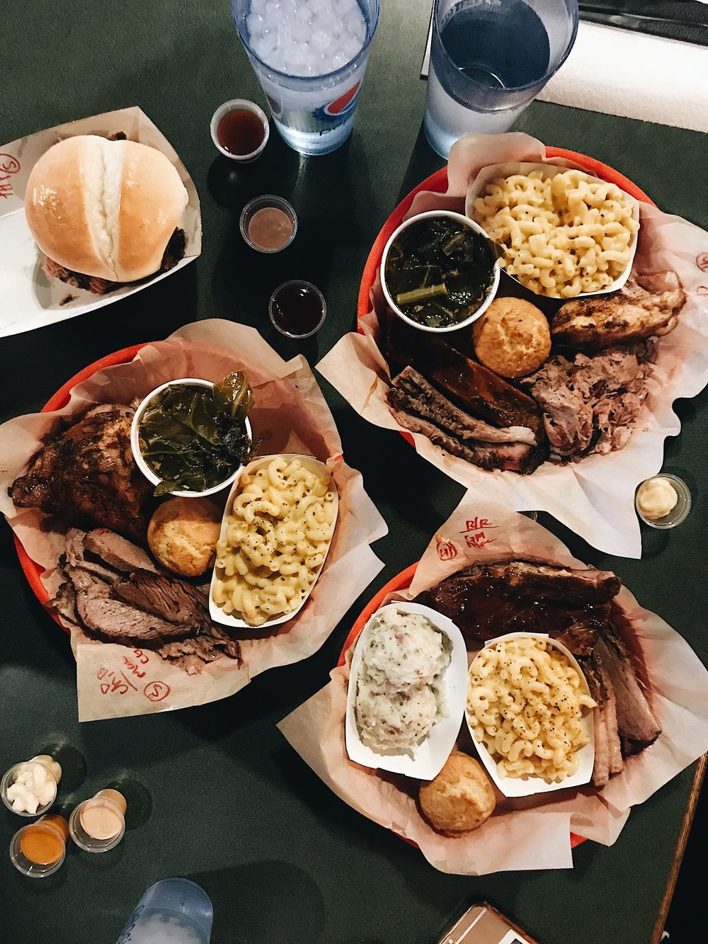 We ended the day after the hike with a hearty, delicious meal at  Lonny Boy's Barbecue  in Hurricane, Utah. They have multiple locations but our Airbnb happened to be in Hurricane, so this was beyond perfect.  We were all starving and in need of sustenance, so a perfect post-crazy hike meal! Shout out to our Airbnb host to feeding us a homemade breakfast the morning after as well! We ate good after this hike guys. Heart, body, and soul are soooo full.   Shot on iPhone.