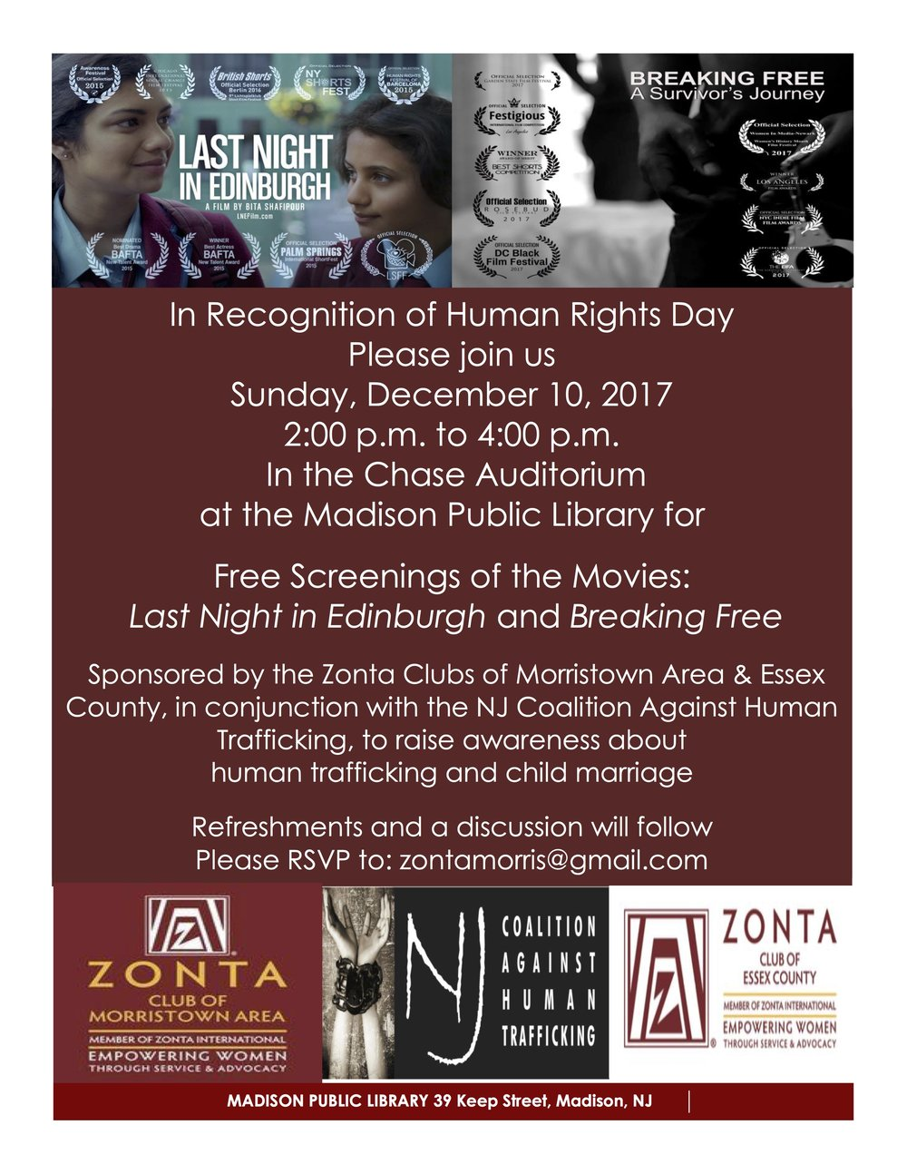 Zonta Dec 10 Movie Screenings.jpg