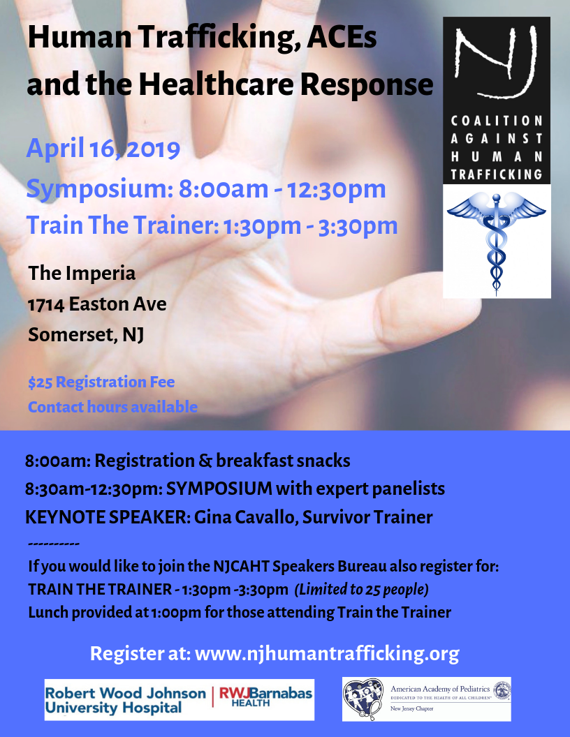 Human Trafficking, ACEs and the Healthcare Response — New
