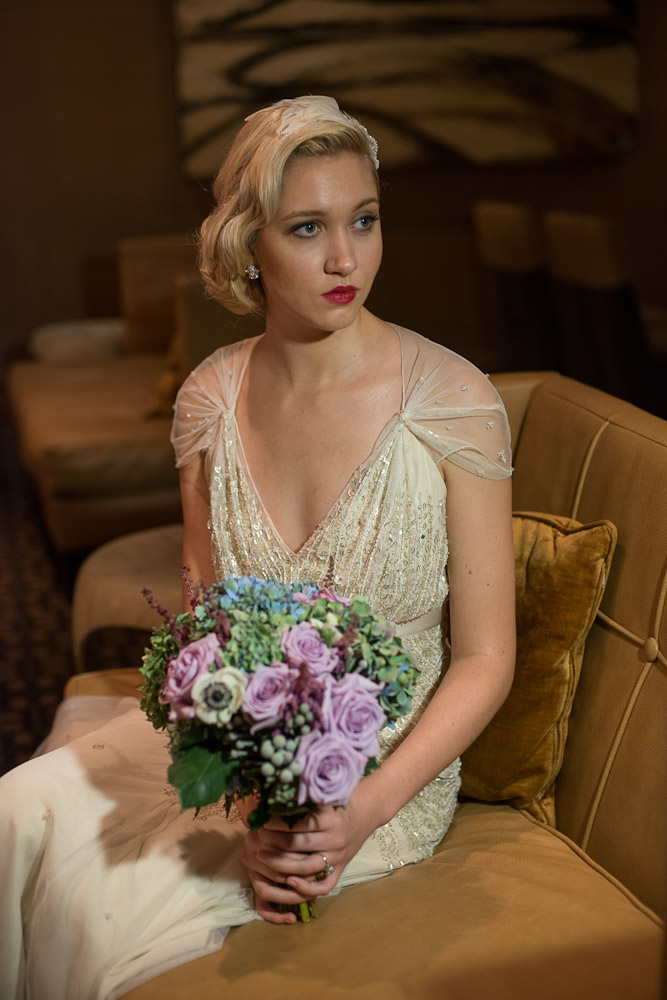 Empire Hotel Bridal Shoot