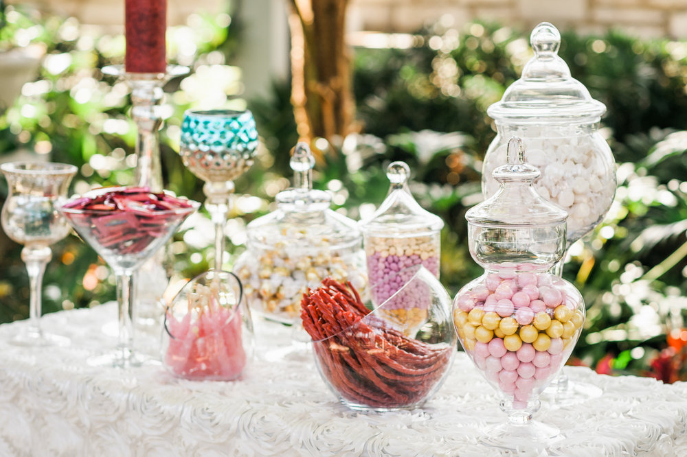 Stacy's Confectionery Stations at the Jewel Box