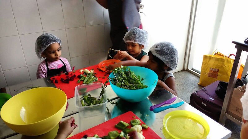 Taking green from yucky to yummy in one cooking session