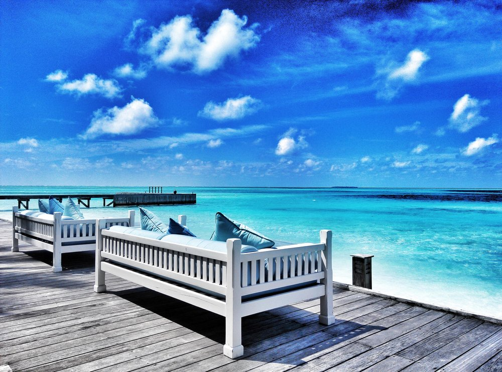 Maldives Rangali Island   A place not too distant from paradise, if only everyday was this peaceful and serene.