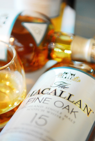 Macallan 15   One of the finest blend of whiskey that adds a splash of sophistication.