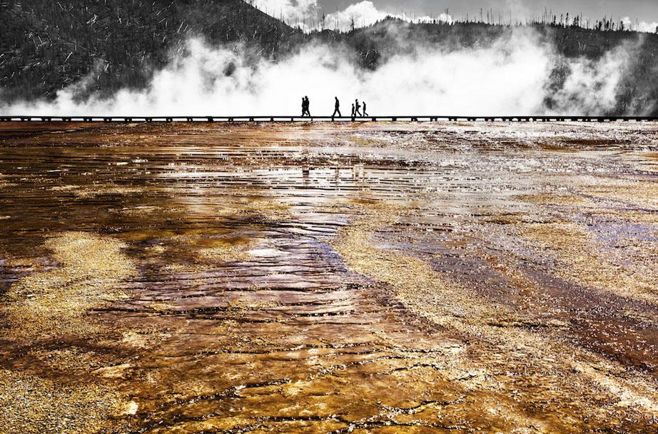 Human Evolution    Yellowstone National Park USA