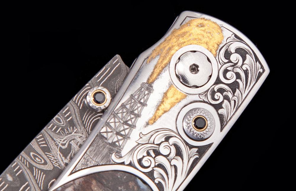 William Henry Pocket Knife | Oil Industry