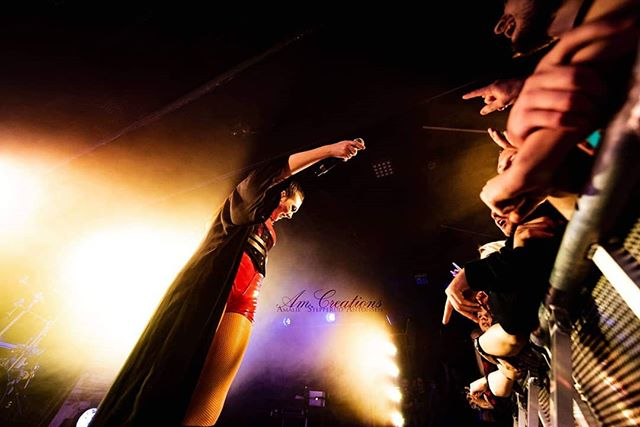 Hiding deep in the pit, love capturing audience interaction shots! . . . . . #amaranthe #elizeryd#metal #onstage #ontour #amcreations