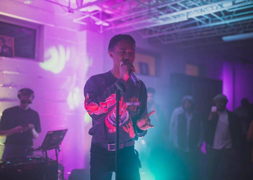 "BOREGARD. – ""Illiterate"" [FT. Kenny Mason] - May 15, 2018 - Avery Shepherd, Immersive Atlanta"