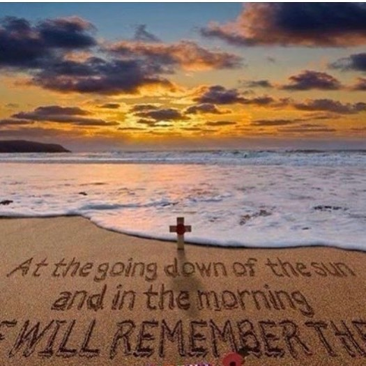 Lest we Forget #thankful #anzacday