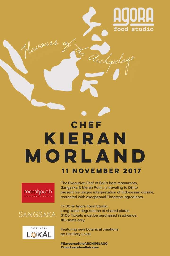 degustation event - 17:30 saturday 11 nov 2017$100 includes a welcome cocktail by Distillery Lokál using special Timorese botanicals.Wines available for purchase