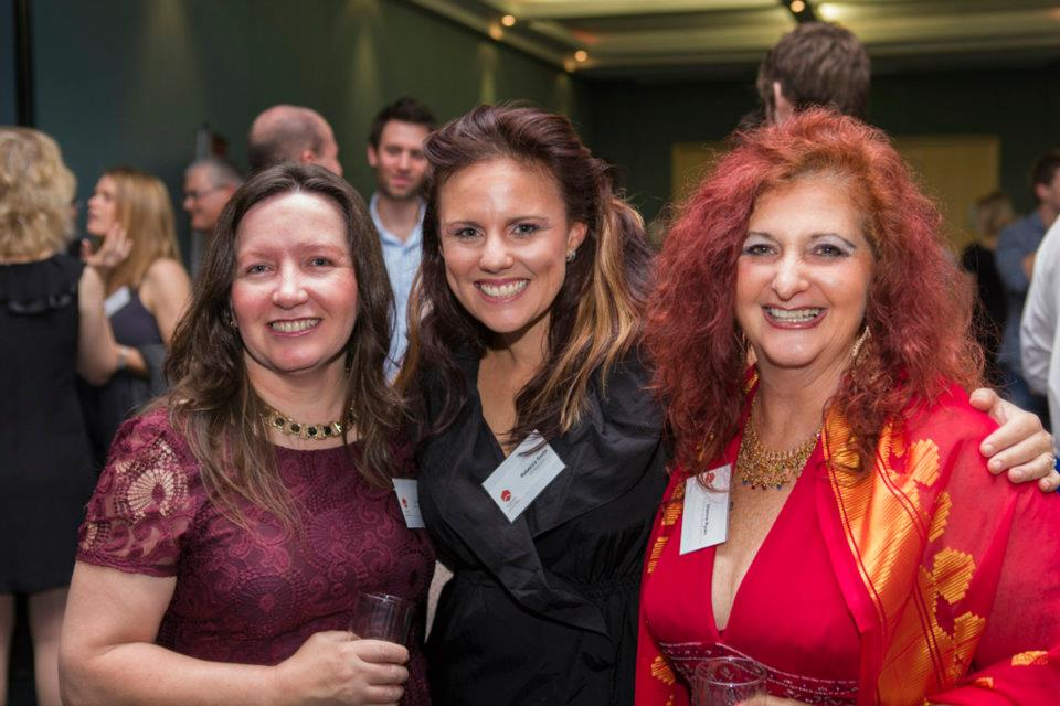 Left to Right — Jo Kirby, Rebecca Smith and Dianne Ryan  © Mike Green - Fisheye Photography 2011 at Mercure Hotel, Brisbane City.