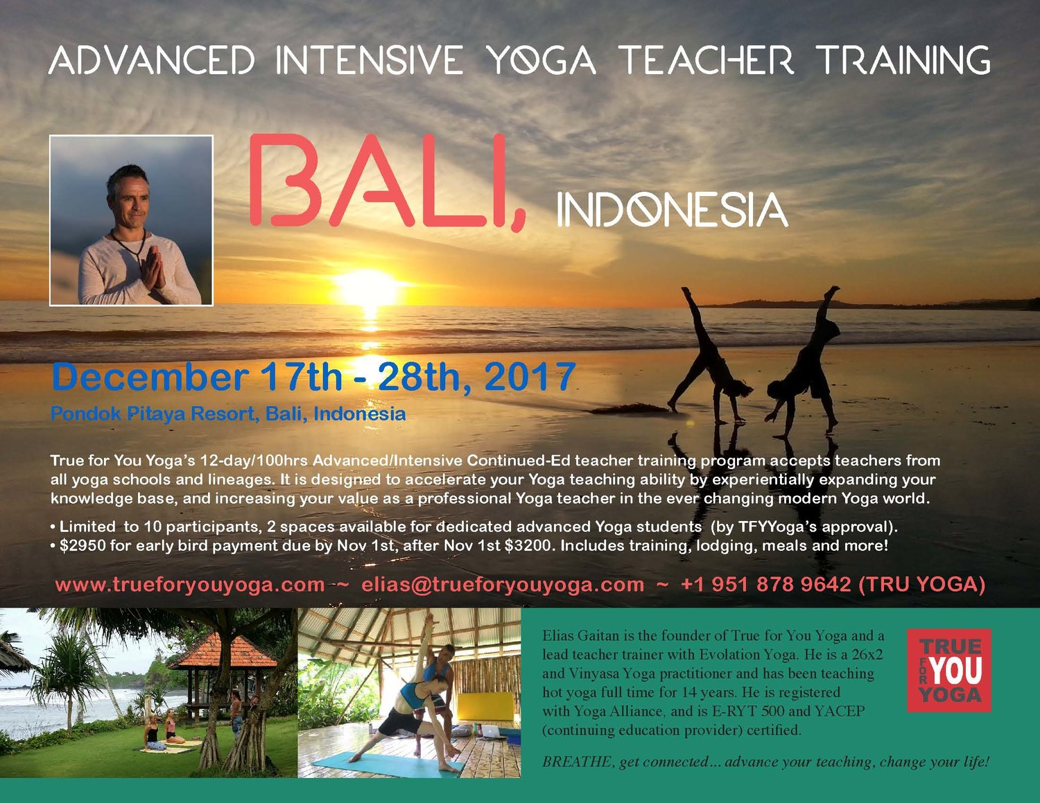 Yoga Connects 2 Day Training With >> Advanced Intensive Yoga Teacher Training True For You Yoga