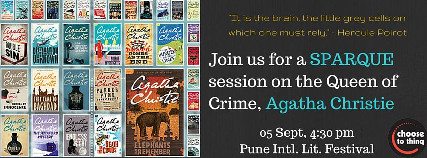 Agatha Christie Quiz at Pune International Literary Festival