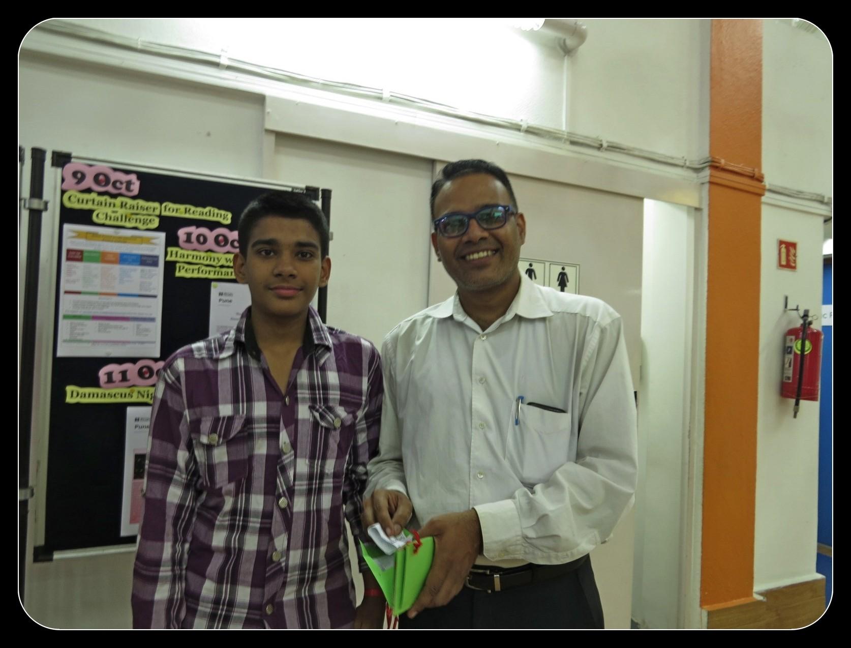Atharva & Ashwin, the winners