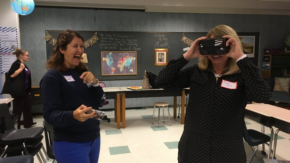 Interested in leveraging VR/AR technologies in the classroom? I can help.