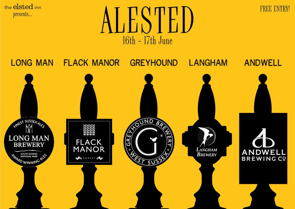 Alested Breweries greyhound langham beer sussex
