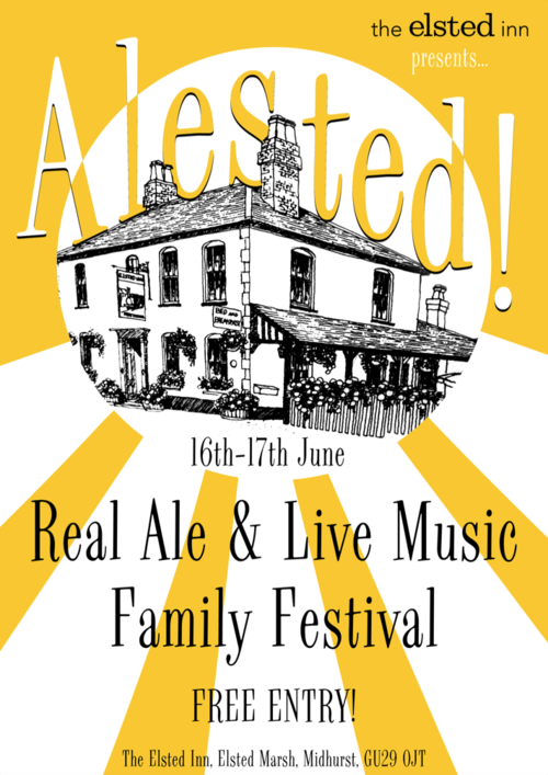 Alested Elsted Inn Festival Beer Poster.png