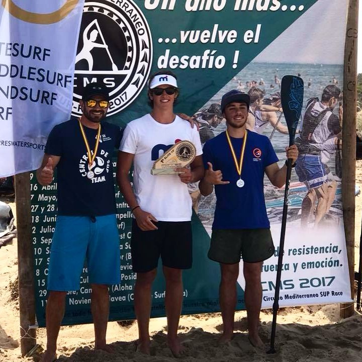 1st James Van Drunen.  2nd Rafa Sirvent.  3rd Salva Mora.