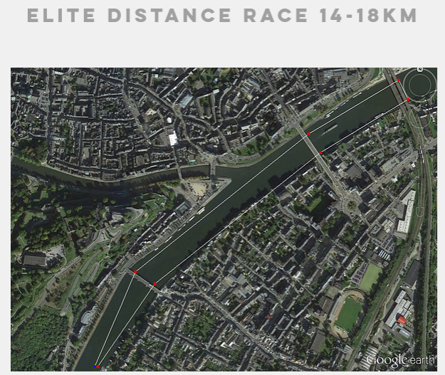 Long distance race course.