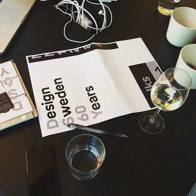 A very exciting meeting! #DesignSweden60