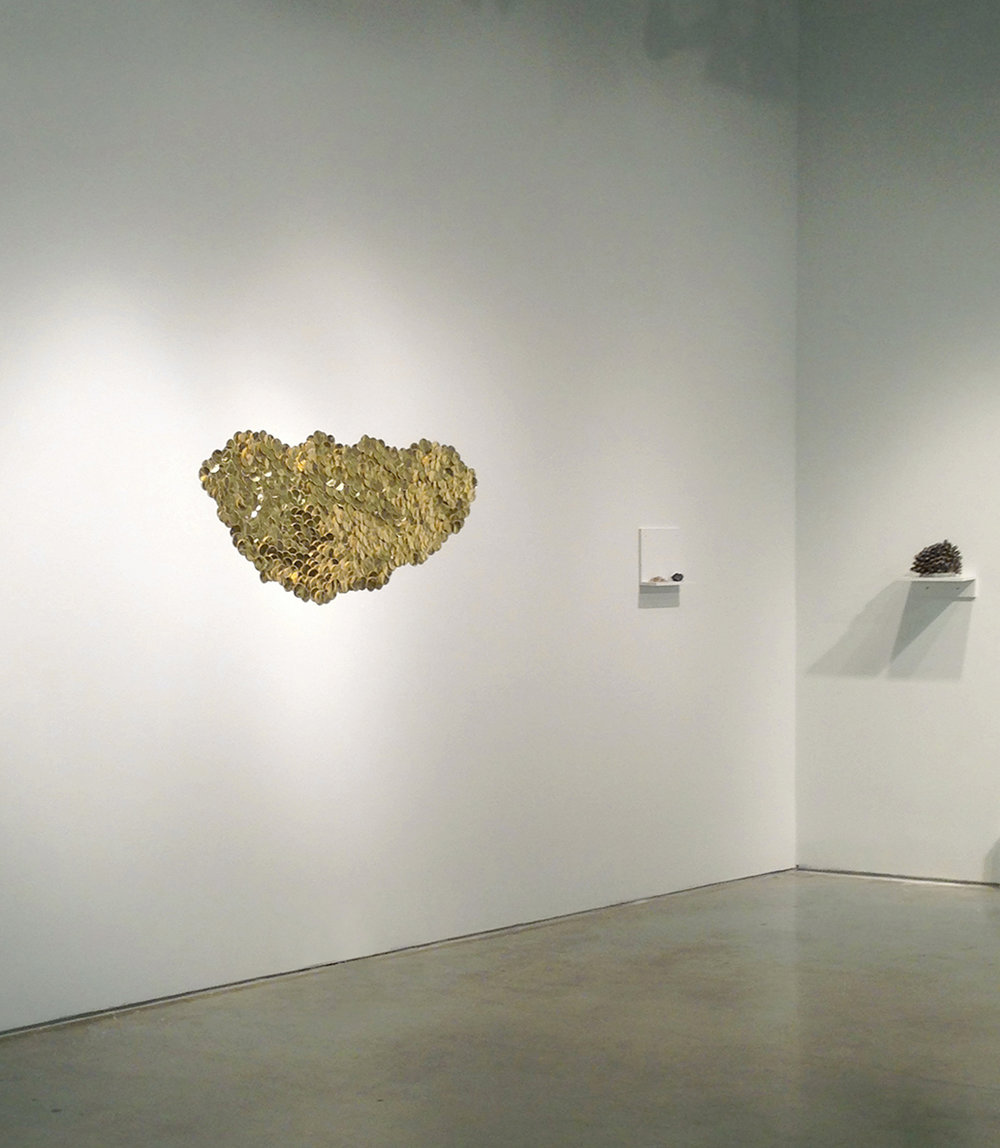 Golden Cloud installation view