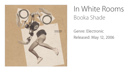 In White Rooms, Booka Shade