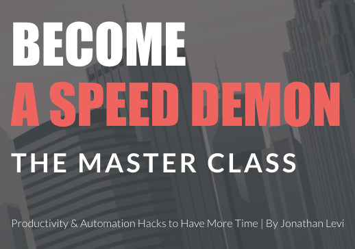 Become A Speed Demon