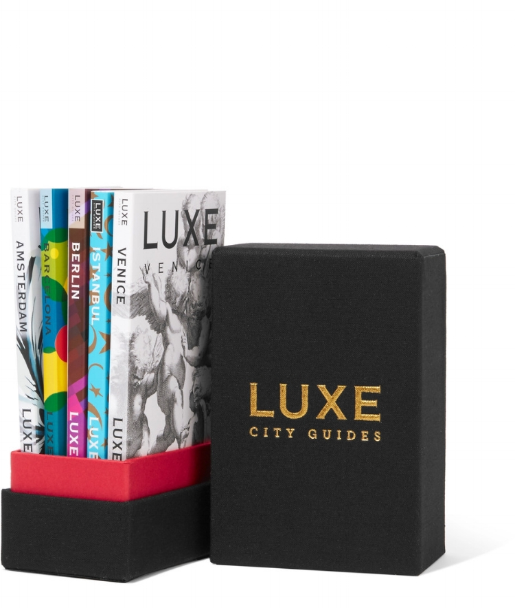 luxe city guides - Europe gift boxAvailable at Net-A-Porter, £65.00