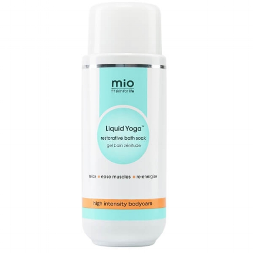 Mio Skincare Liquid Yoga Bath Soak, 200ml, £26, available at Mio - Mio Skincare has put some serious thought and science into this bottle for the perfect relaxing soak. What does it contain? A traditional remedy of magnesium-rich Epsom salts, Arnica, a blend of essential oils, including Mentha Arvensis Leaf Oil, Citrus Lemon Peel Oil, Cypress Leaf Oil and Lavender, as well as moisturising Murumuru Butter and Horse Chestnut seed extract, rich in Escin plus Quercetin to boost antioxidant protection - all of which help to ease your stress and anxieties.Normal soaks may smell good, but Liquid Yoga goes way beyond and targets your skin, boosts your Vitamin A, and actively eases your muscles.