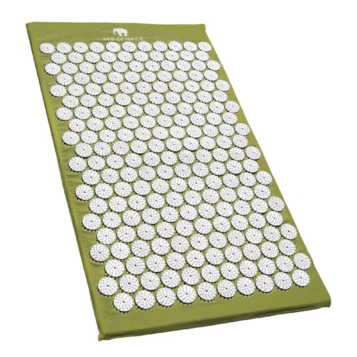 Bed of Nails, Acupressure Mat, £70, available at Cult Beauty - Don't be scared off by this bed of nails! It really is not as scary as it seems. A proven way to banish aches and pains, the bed of nails has been used for centuries in the practice of healing and meditation and this handy mat modernises the whole concept. The non-toxic spikes (more than 8,300 of them!) help the body to rid itself of toxins and to increase blood flow, which cleverly assists the breakdown of stubborn fat groupings and relieves aches in your body at the same time - helping you to re-balance through safe acupuncture techniques. Expect a release of happy endorphins and oxytocin, which will help you stay calm and remove any negative energy. You have to try this!