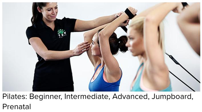 pilates beginner intermediate advances jumpboard prenatal