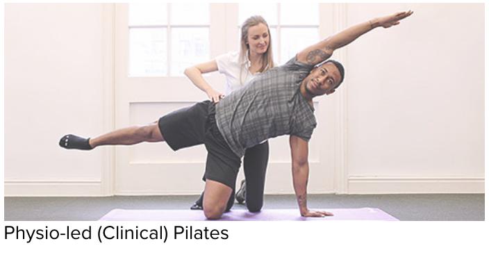 physio-led clinical pilates