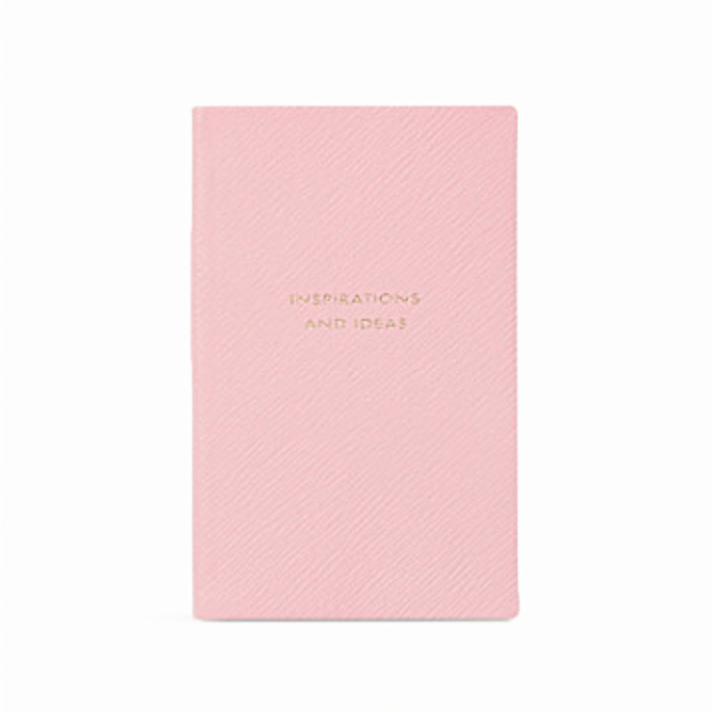 Smythson - Panama Textured-Leather NotebookAvailable at Net-A-Porter, £45.00