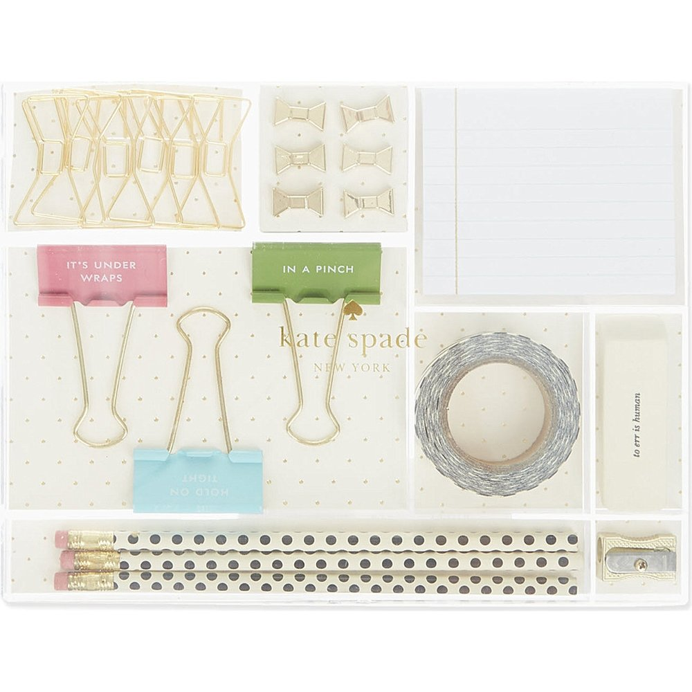 Kate Spade - stationery tackle boxAvailable at Selfridges, £48.00