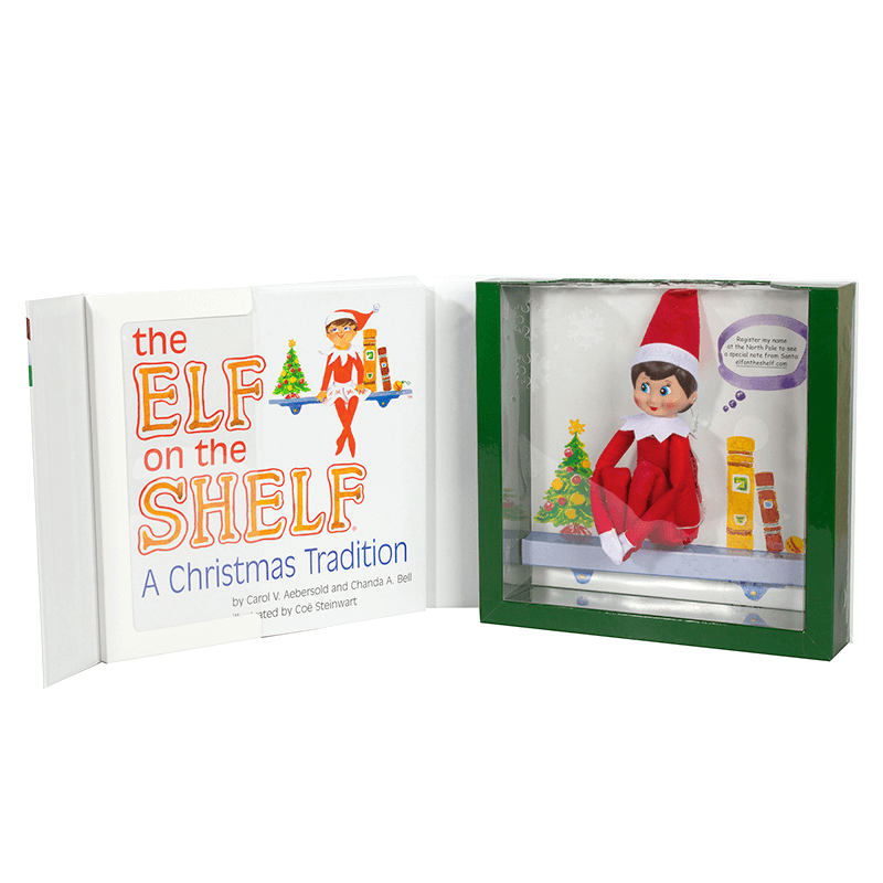 The Elf on the Shelf Christmas Tradition, £22.95