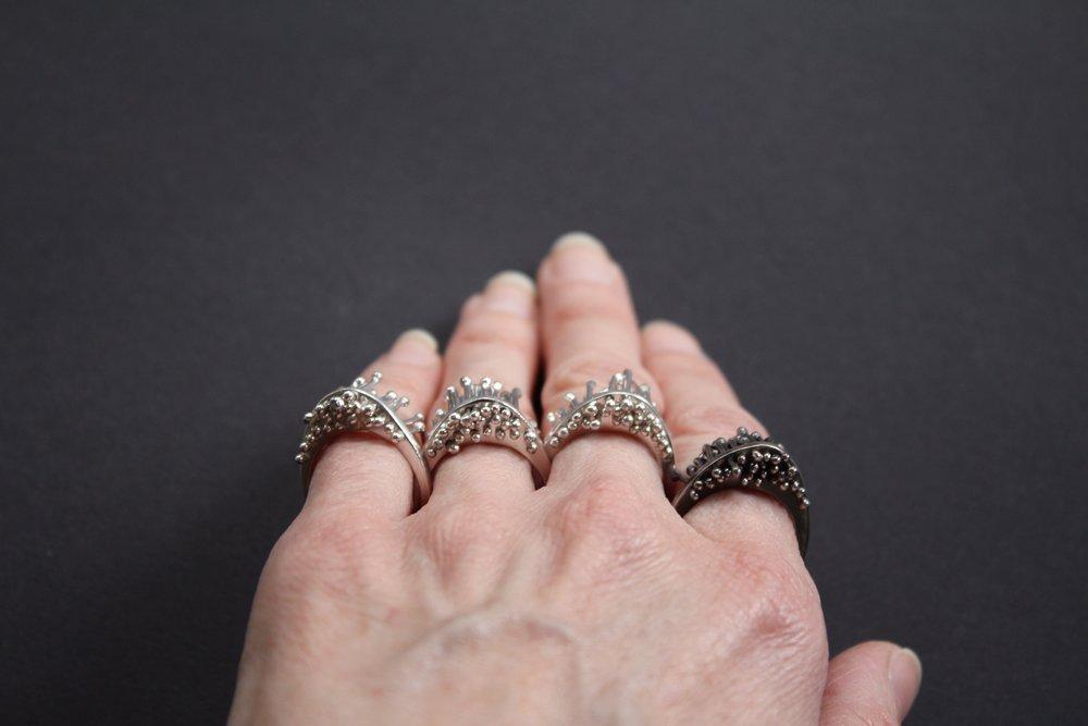 Silver & Oxidised
