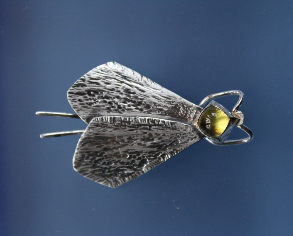 Thursday Moth Brooch