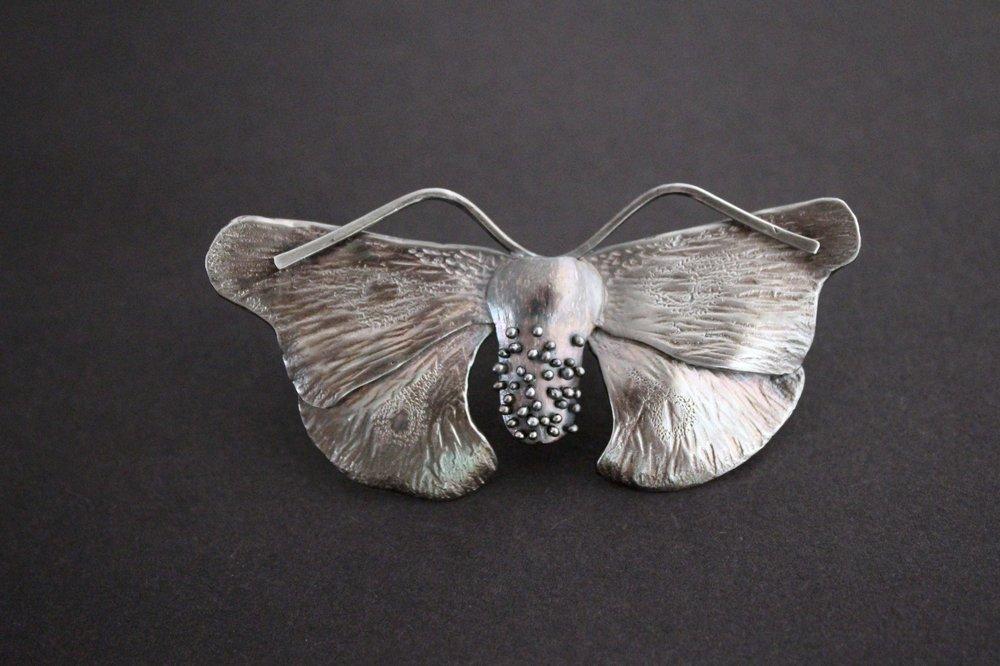 Goth Moth Rings