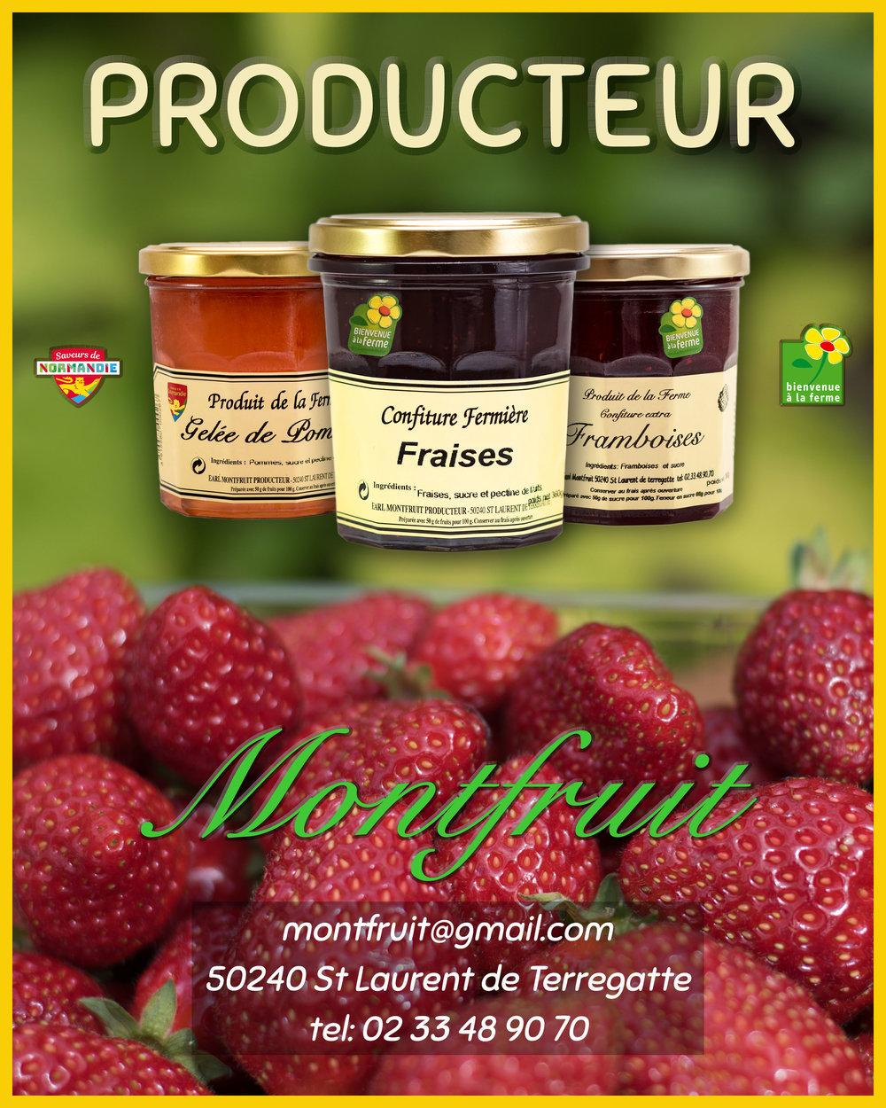 EARL Montfruit, Produits de la Ferme