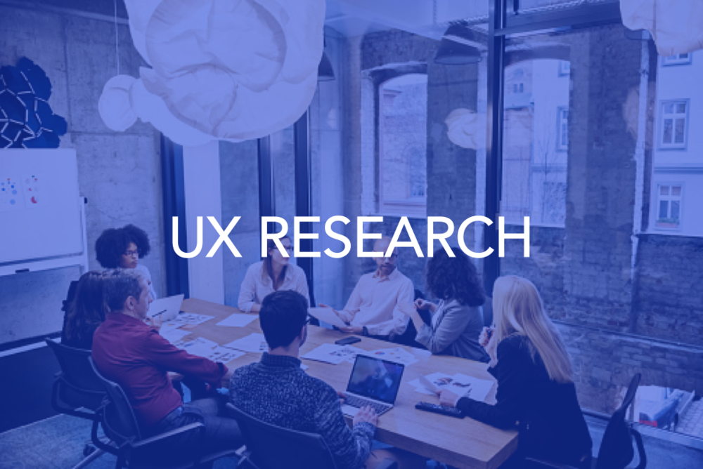 USER RESEARCH  Shadowing, interviews, focus groups, online forms, personas, customer journey map...