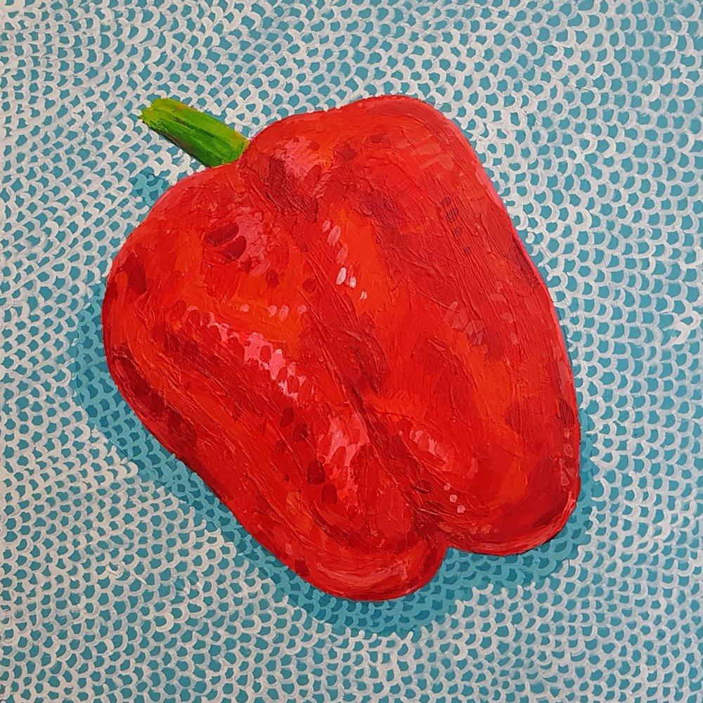 Still life - red pepper (part a bigger project)