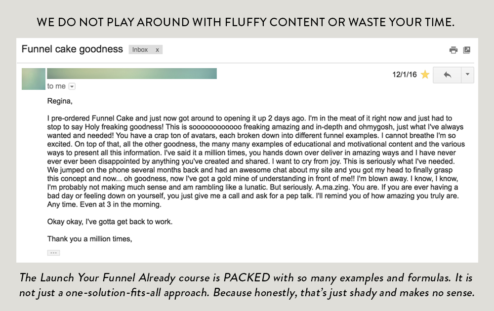 Formerly Content Funnel Cake and Funnels With Friends, this course is now even more packed than ever