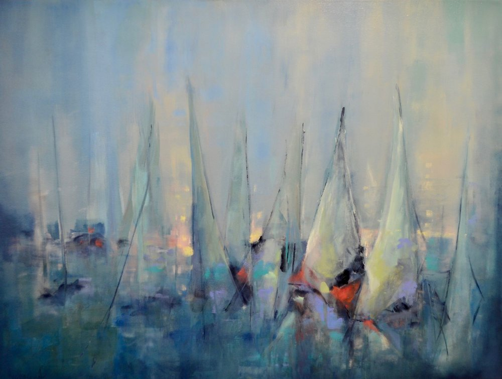 Big Pass Regatta 30x40 (SOLD)