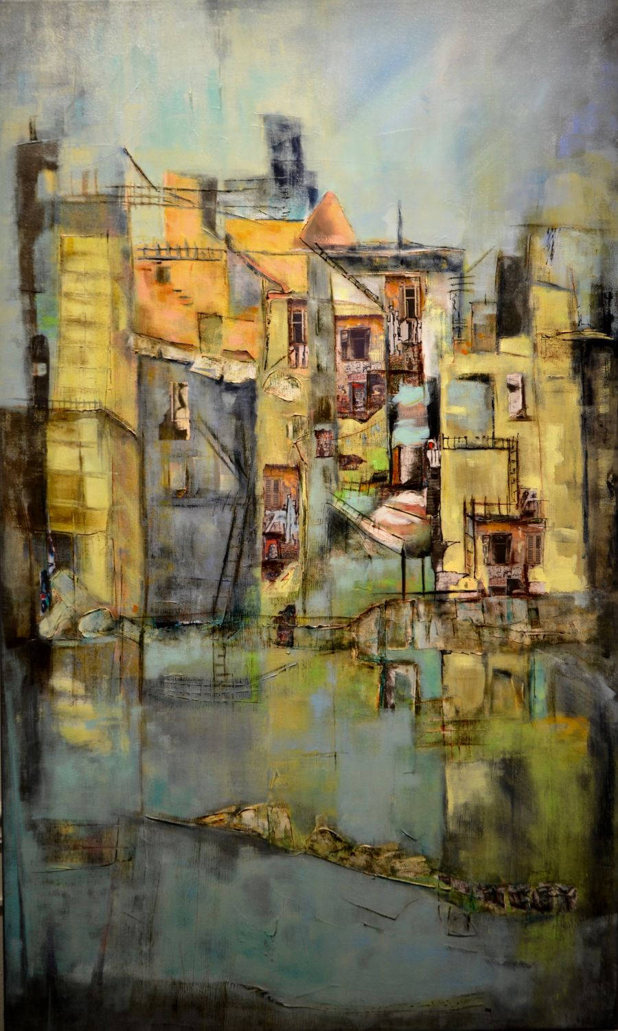Alley Scapes - 36x60 (SOLD)