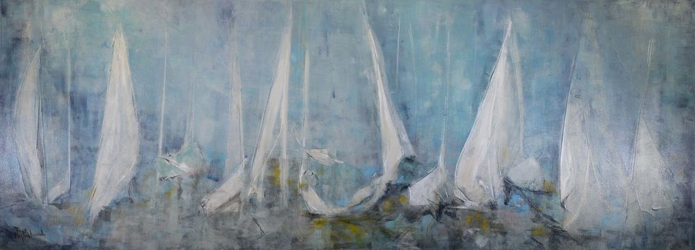 Leeward Sails 96x36 (SOLD)