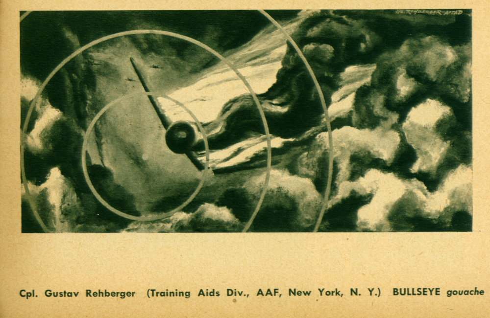 """Bullseye"" Soldier Art - 1945"