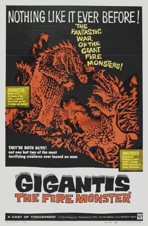 """GIGANTIS - The Fire Monster"", Warner Bros."