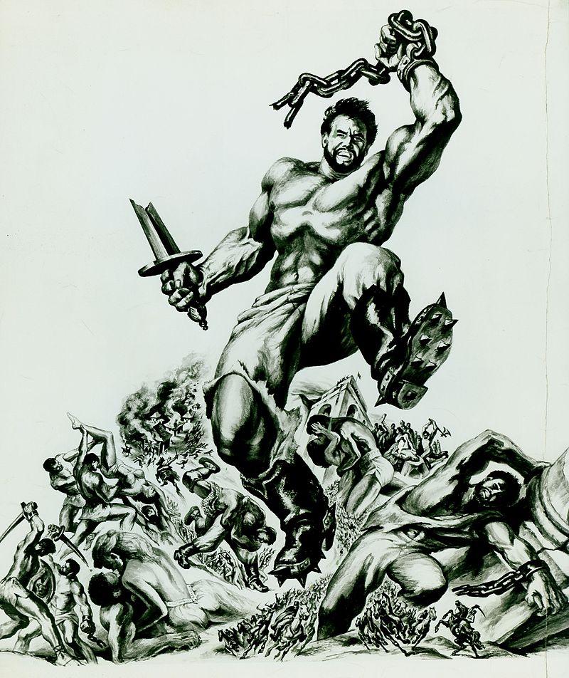 """""""The White Warrior"""" starring Steve Reeves as Hercules (Warner Bros.)"""