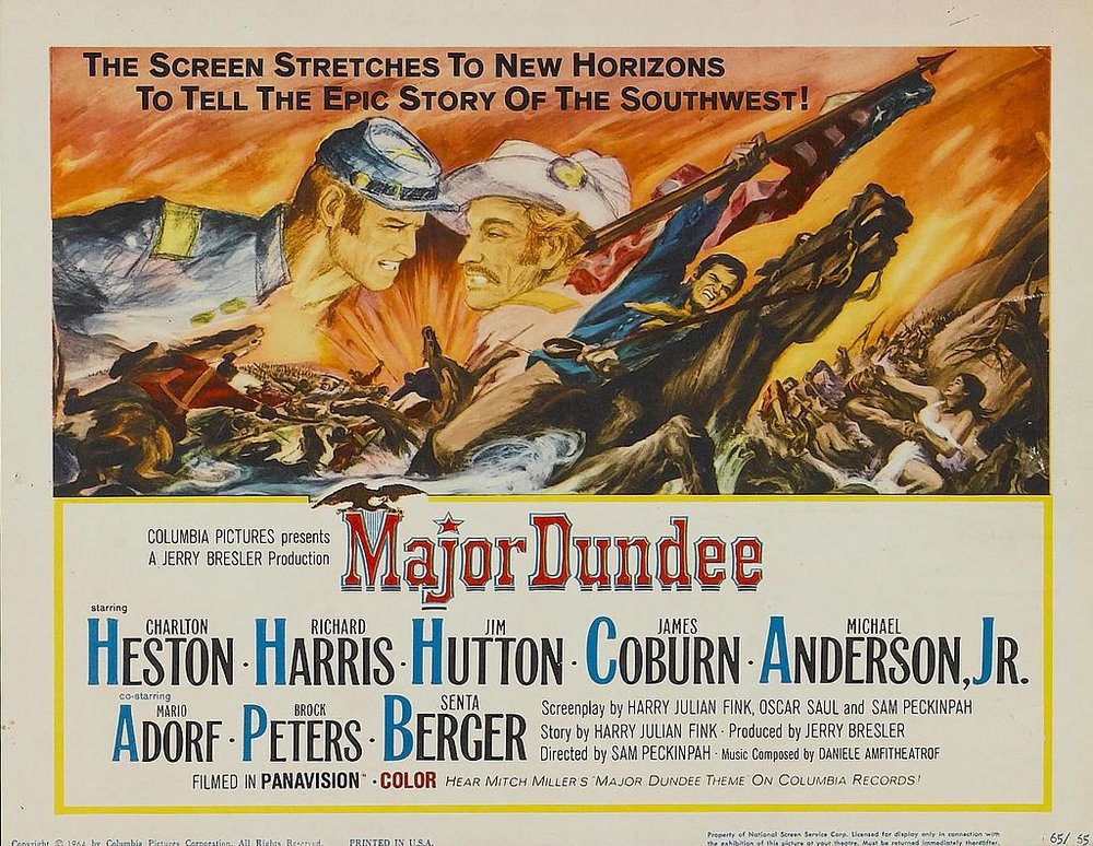 """Major Dundee"" starring Charlton Heston (Paramount Pictures)"